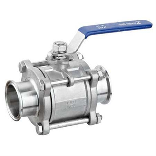 3PC Ball Valves Clamped Ends 1000WOG