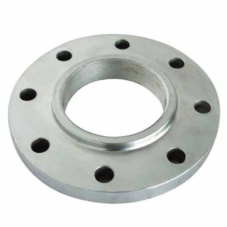 BS10 TABLE D/E Threaded Flange,S235JR PN40 Screwed Forged Flange Galvanized