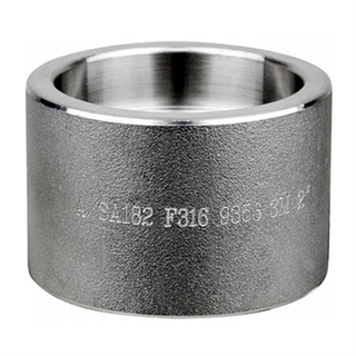 China Supplier Forged Fittings A182 F310S Stainless Steel Round Cap Socket Weld ASME B16.11 3000LB DN50
