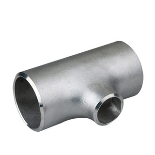 ASME B16.9 Stainless Steel A403 WP316/316L Butt Weld Reducing Tee