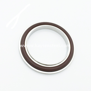 KF Centering Ring with viton oring and outer ring Vacuum Fitting stainless steel 304