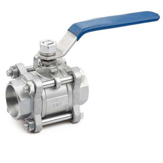 3PC Socket Weld Ball Valve