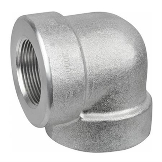 Galvanized Carbon Steel Thread Elbow 90 Degree