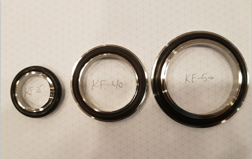 China KF ISO NW Centering Rings, O-Rings, Vacuum Flange Fittings Supplier