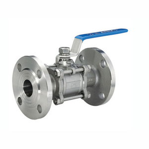 3PC Flange Ball Valve with Mounting Pad