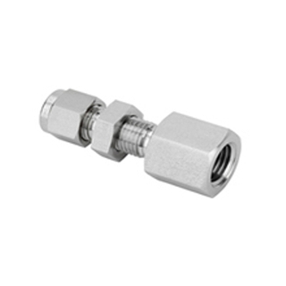 Tube Fitting-Straight Bulkhead Female Connectors