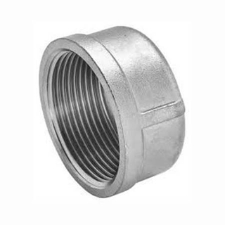Stainless Steel Casting Pipe Fitting Round Cap