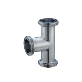 Sanitary Thread Union Tee Pipe Fittings